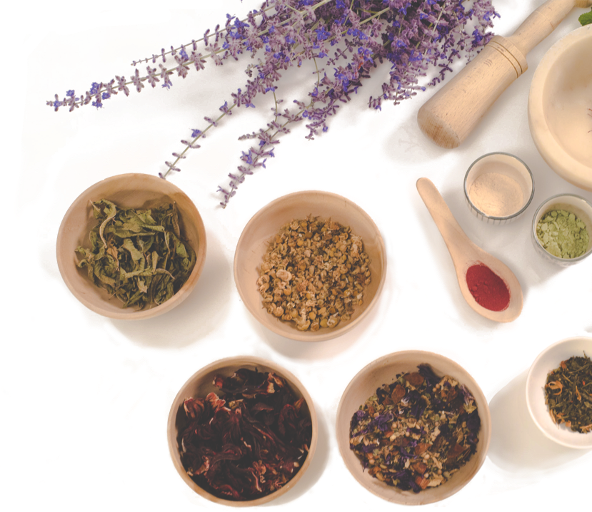 Herbs, omega 3 pills and other suplements